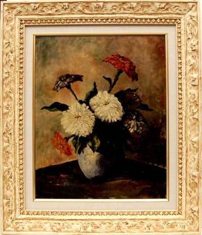 Teunis Ooms, 'Still Life Flowers', ca. 1935