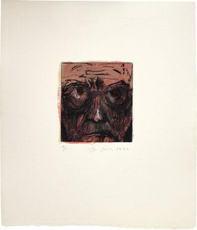 Jim Dine, 'Self-Portrait Hand Painted in Paris', 1979