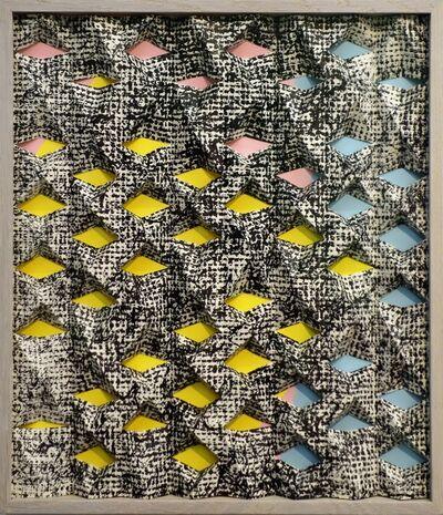 Jirka Pfahl, 'Faltung bunt', 2015