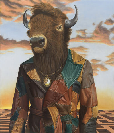 Sean Landers, 'Buffalo Minotaur', 2016