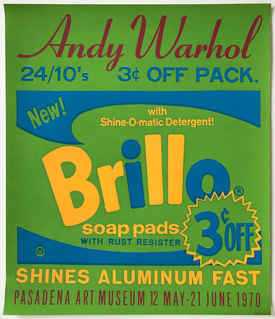 Andy Warhol, 'Brillo Poster for the Pasadena Art Museum', 1970