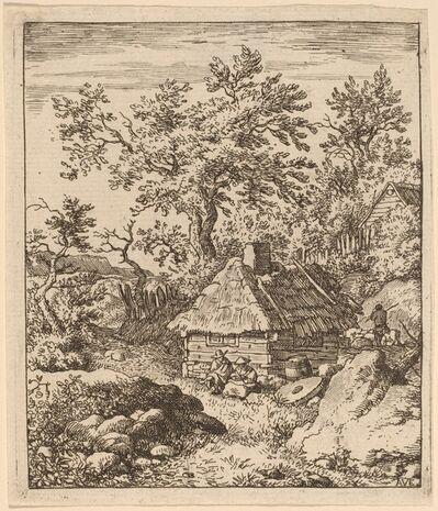 Allart van Everdingen, 'Landscape with Millstone near a Cask', probably c. 1645/1656