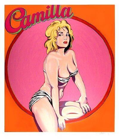 Mel Ramos, 'Camilla', 1995