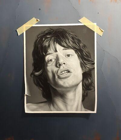 Otto Duecker, 'Mick Jagger', 2014
