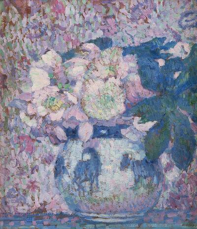 Théo van Rysselberghe, 'Fleurs dans un vase', 1906