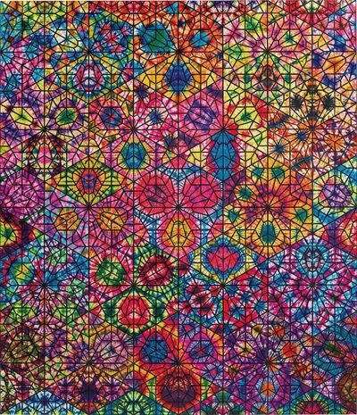 Philip Taaffe, 'Large Cairene Window', 2009-2010