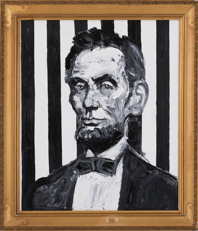 Hunt Slonem, 'Lincoln (EA01472)', 2019