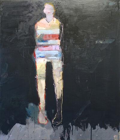 Chris Gwaltney, 'Grey Chalkboard', 2019