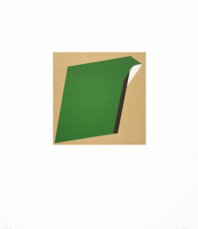 Tony Delap, 'Too Much Green II', 2012