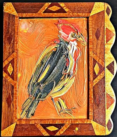 Hunt Slonem, 'Untitled (Bird) ', 1997