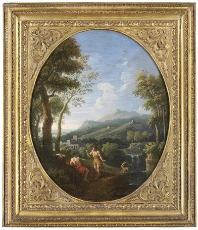 Jan Frans van Bloemen, called Orizzonte, 'An Italianate landscape'