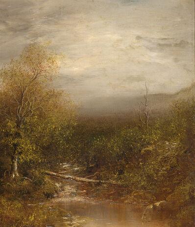 Ralph Albert Blakelock, 'Pool in the Adirondacks', ca. 1875-1878