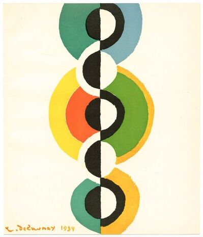 Robert Delaunay, 'Colour Pochoir', 1949