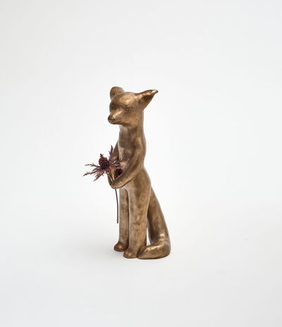 Clémentine de Chabaneix, 'Fox with thistle', 2020