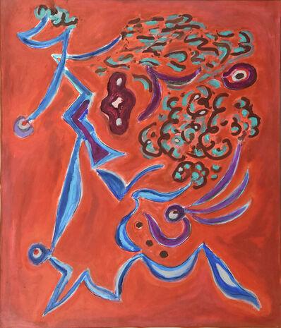 Gillo Dorfles, 'Irrequietezza', 1989