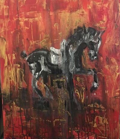Ana Porta, 'Tang Dinasty Horse', 2019