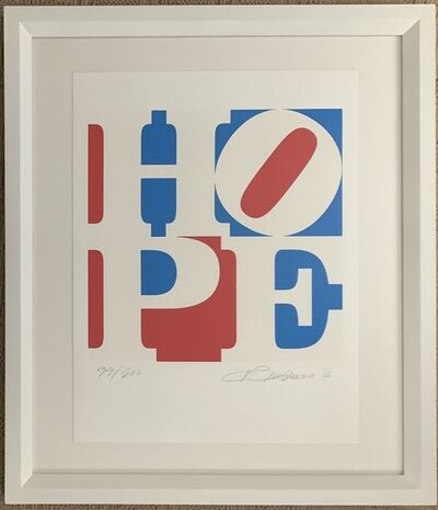 Robert Indiana, 'HOPE (Red, White, Blue)', 2008