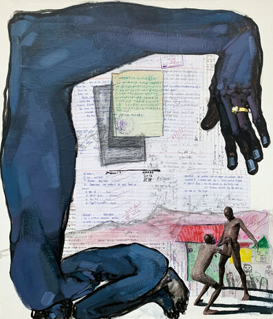 Dawit Abebe, 'Long Hands 13', 2020