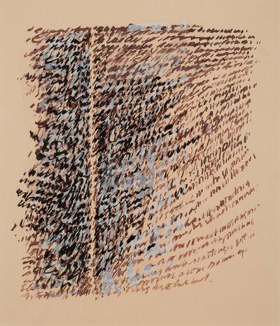 George Deem, 'Double Paragraph', 1966