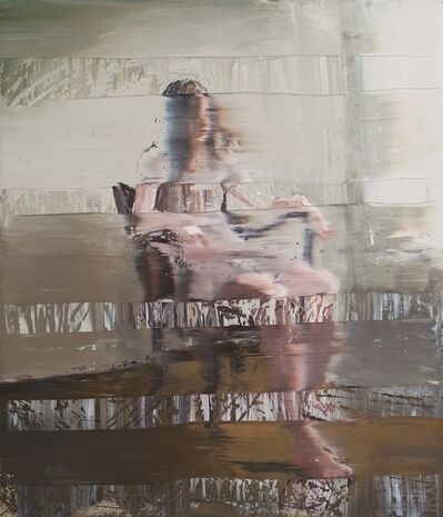 Andy Denzler, 'Girl In A Leather Chair', 2015