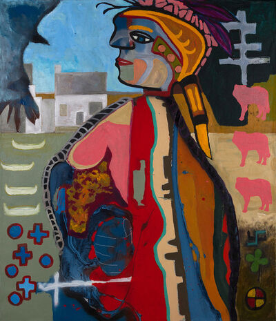 Jay Carrier, 'Warrior Woman', 2015