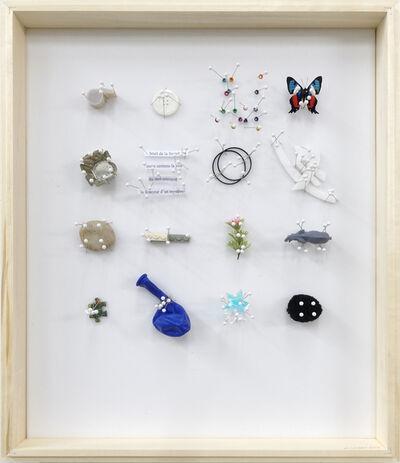 Michel Goulet, 'Temps suspendus, Bruit de la fourchette', 2018