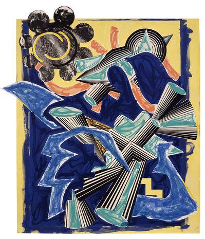 Frank Stella, 'Illustrations after El Lissitzky's 'Had Gadya': B. Had Gadya: Back cover, CTPI', 1985