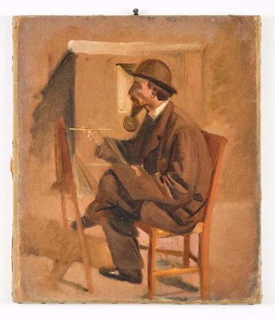 Vincenzo Cabianca, 'The Painter', 19th Century