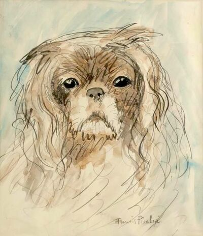 Francis Picabia, 'Tête de chien', ca. 1927