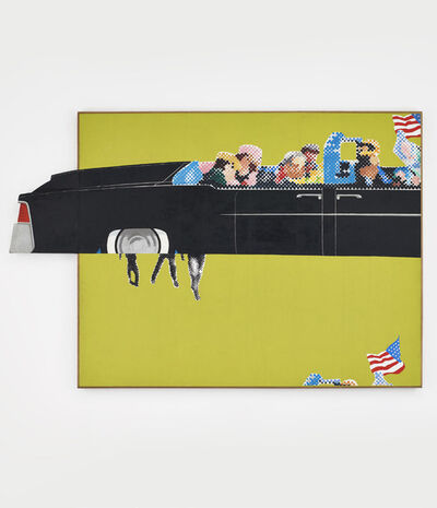 Gerald Laing, 'Lincoln Convertible', 1964