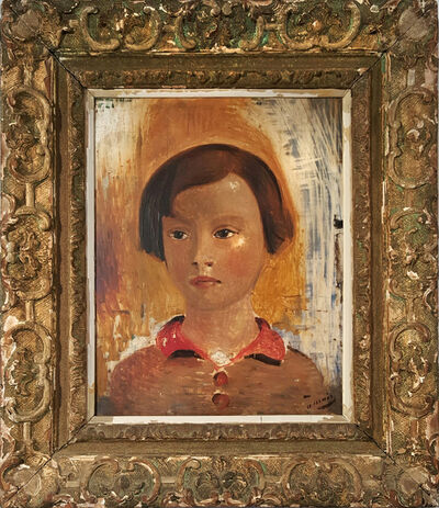 André Derain, 'Portrait of a Little Girl', 1928
