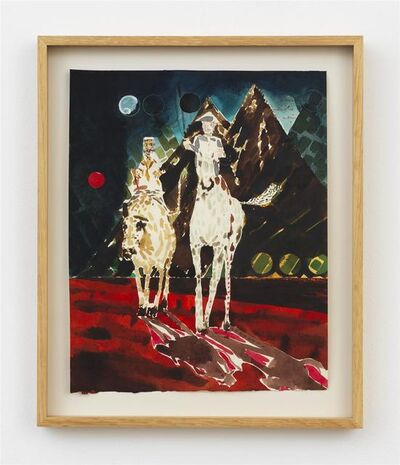 Barnaby Furnas, 'Don Quixote #1 (the long walk home)', 2018