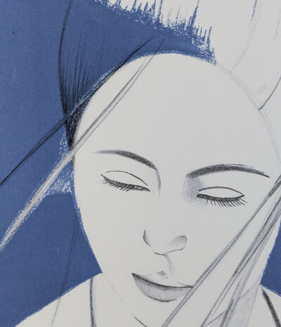 Alex Katz, 'Pamela (Blue)', 1976