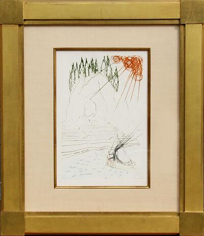 Salvador Dalí, 'Le Combat avec Morhoult from Tristan et Iseult', 1970