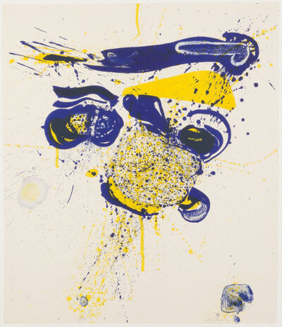 Sam Francis, 'Mercury', 1963
