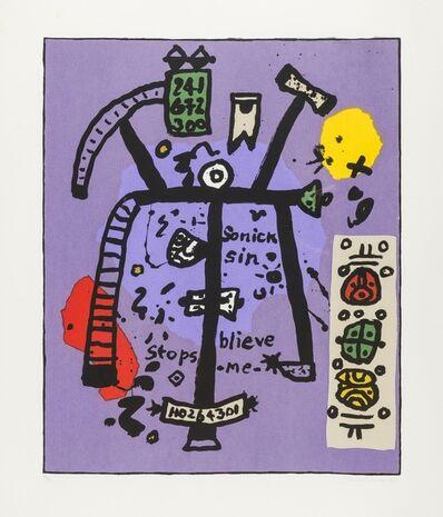 Alan Davie, 'Sonick Sin', 2001