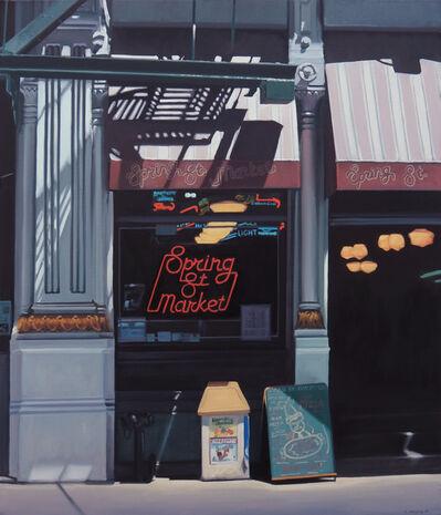 Stephen Magsig, 'Spring St. Market'