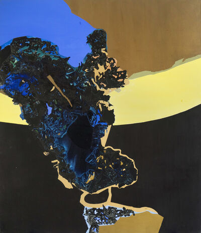 Dorothy Hood, 'Yellow Stripe', mid-1990s