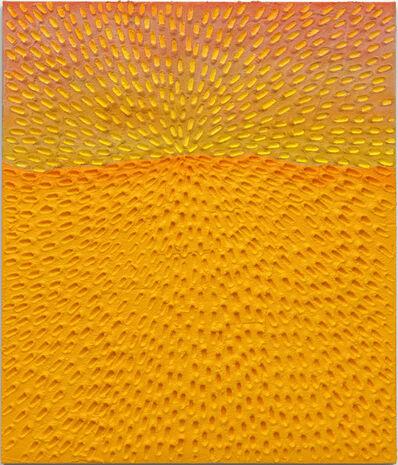 Jennifer Guidi, 'New Horizon (Painted White Sand SF #3C, Light Yellow and Pink Sky)'