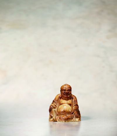 Unknown Artist, 'An Ivory Seated Model of Budai 明16|17世紀 象牙布袋和尚坐像', China: Ming Dynasty-16|17th century