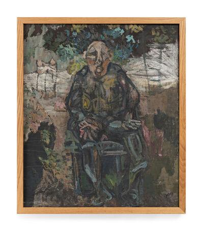 Siri Derkert, 'Sittande man (Döv man),', 1944-1945