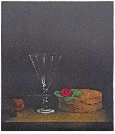 Tomoe Yokoi, 'Glass, Box and Flower', 1984