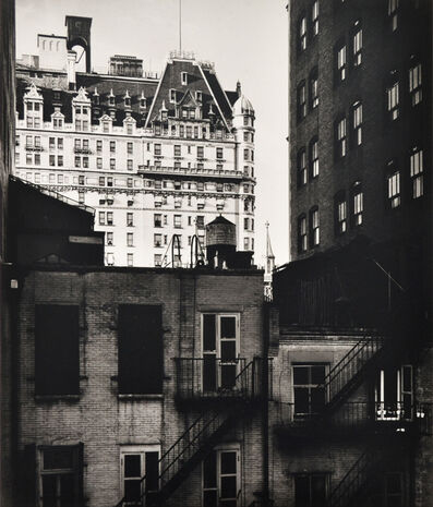 Beaumont Newhall, 'Plaza Hotel, New York', 1941