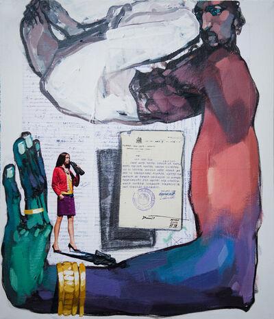 Dawit Abebe, 'Long Hands 32', 2020