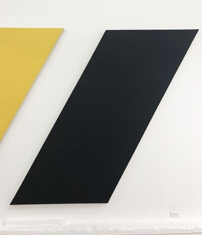 Olivier Mosset, 'Untitled (Black Apostrophe)', 2013