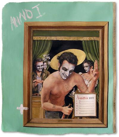 Russell Nachman, 'Palimpsest: Prayer Book For a Drunk Noah III', 2013