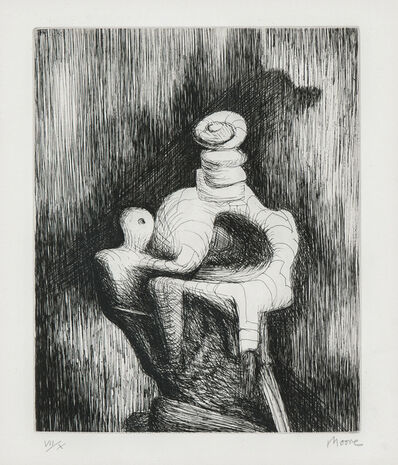 Henry Moore, 'Mother and Child', 1979-80