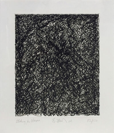 Brice Marden, 'Etching for Obama, from the Artist for Obama Portfolio', 2008