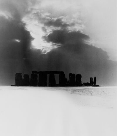 Bill Brandt, 'Stonehenge under Snow, 1947', 1947
