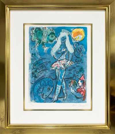 Marc Chagall, 'L'equilibriste (The Tightrope)', 1967